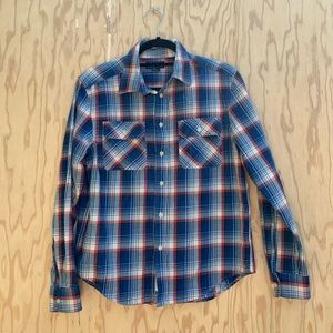 Polo Ralph Lauren blue and red plaid button down
